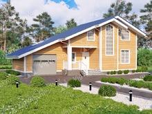 """Каркасный дом с гаражом V462 """"Валледжо"""""""