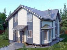 """Каркасный дом с 3 спальнями V442 """"Юджин"""""""