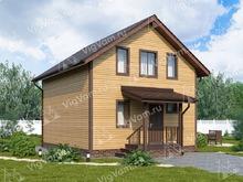 """Каркасный дом с с мансардой и 4 спальнями V366 """"Хартфорд"""""""