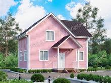 """Каркасный дом с 3 спальнями V411 """"Коламбус"""""""