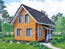 """Каркасный дом с мансардой V383 """"Спрингфилд"""""""