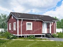 """Одноэтажный каркасный дом V371 """"Торнтон"""""""