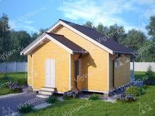 """Каркасный дом одноэтажный V429 """"Баффало"""""""
