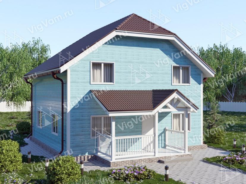 """Каркасный дом с 3 спальнями V427 """"Бейкерсфилд"""""""