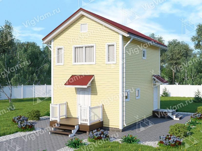 "Каркасный дом V423 ""Бирмингем"""