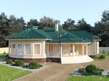 """Каркасный дом с 3 спальнями V293 """"Чула-Виста"""""""
