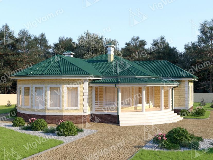 """Дом из керамического блока с 3 спальнями VK293 """"Чула-Виста"""""""