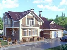 """Каркасный дом с гаражом на 2 машины V320 """"Ларедо"""""""