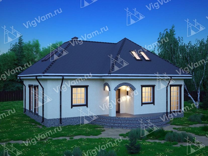"""Дом из керамического блока VK309 """"Гарлэнд"""""""