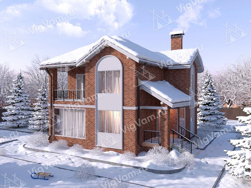 """Каркасный дом с 3 спальнями V353 """"Ньюарк"""""""
