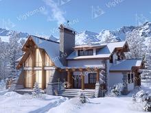 """Каркасный дом с 3 спальнями V348 """"Мемфис"""""""