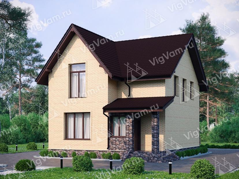 """Каркасный дом с 3 спальнями V249 """"Миссури"""""""
