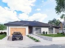 """Каркасный дом с гаражом на 2 машины V284 """"Орландо"""""""