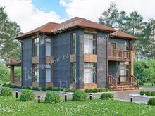 """Каркасный дом с 3 спальнями V158 """"Ватерлоо"""""""