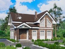 """Каркасный дом с террасой V240 """"Калифорния"""""""