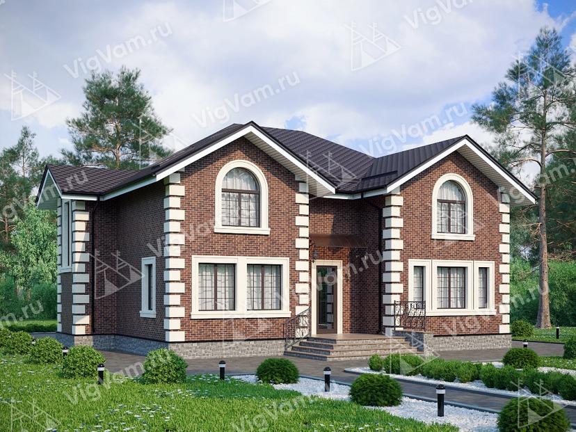 """Каркасный дом с 3 спальнями V239 """"Делавер"""""""