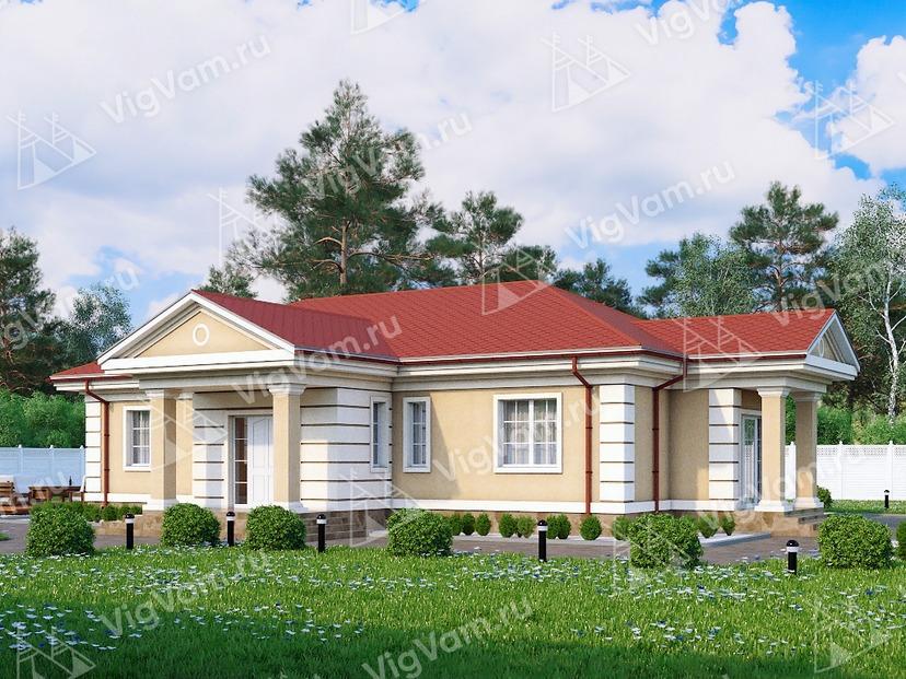 """Каркасный дом для узкого участка V238 """"Коннектикут"""""""