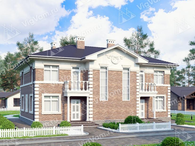 """Каркасный дом с 3 спальнями V210 """"Вермонт"""""""