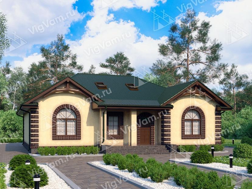 """Каркасный дом с 3 спальнями V236 """"Джорджия"""""""