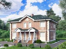 """Каркасный дом с 3 спальнями V207 """"Берил"""""""