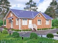 """Каркасный дом с 3 спальнями V168 """"Рогерс"""""""