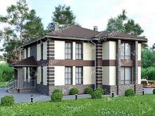 """Каркасный дом с 3 спальнями V222 """"Небраска"""""""