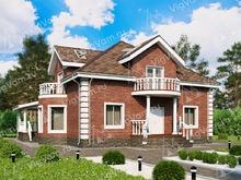 """Каркасный дом с 3 спальнями V084 """"Ниагара Фоллс"""""""