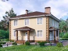 """Каркасный дом с 3 спальнями V138 """"Стонингтон"""""""
