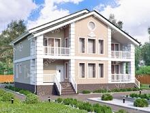 """Каркасный дом с бассейном и сауной V134 """"Валлингфорд"""""""
