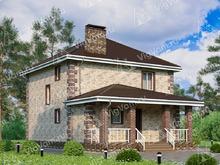"""Каркасный дом с 3 спальнями V091 """"Хемпстад"""""""