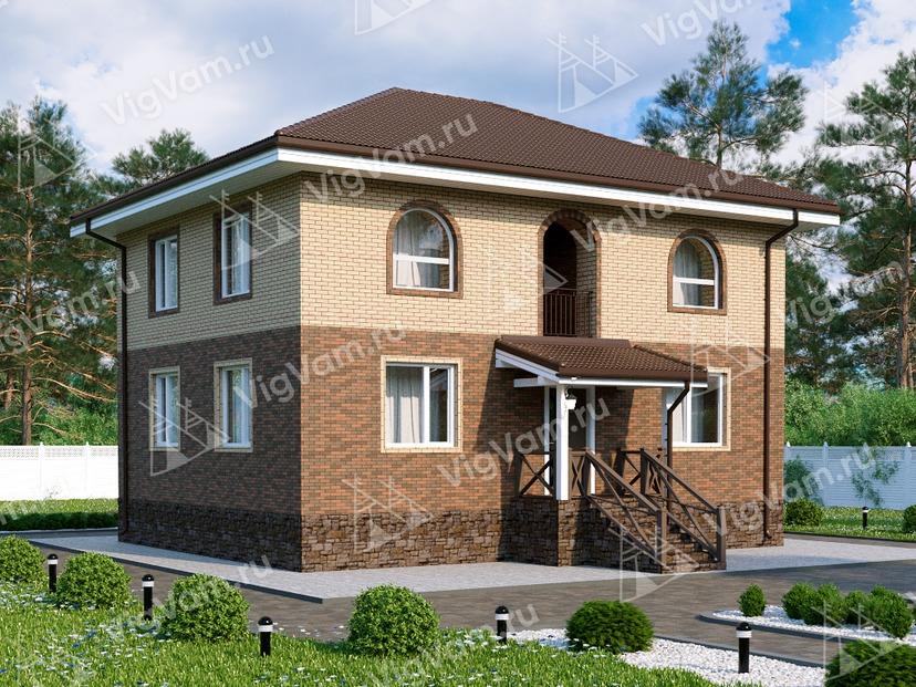 """Дом из керамического блока с 4 спальнями VK022 """"Тонавада"""""""