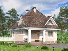 """Каркасный дом с 3 спальнями V069 """"Ментор"""""""