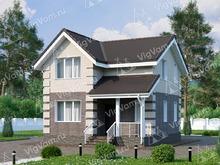 """Каркасный дом с 2 спальнями V066 """"Янгстоун"""""""