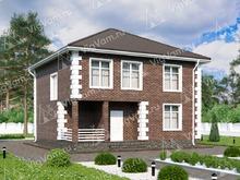 """Каркасный дом с 4 спальнями V057 """"Ла Гранде"""""""