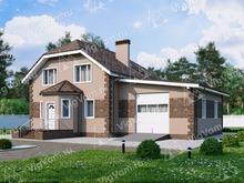 """Каркасный дом с 3 спальнями и гаражом V052 """"Ридспорт"""""""