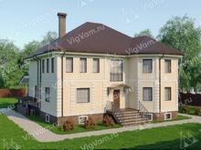 """Каркасный дом с цокольным этажом V359 """"Милдред"""""""