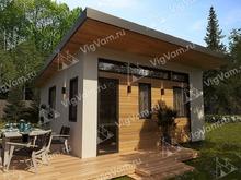 """Каркасный дом с 2 спальнями V465 """"Бангор"""""""