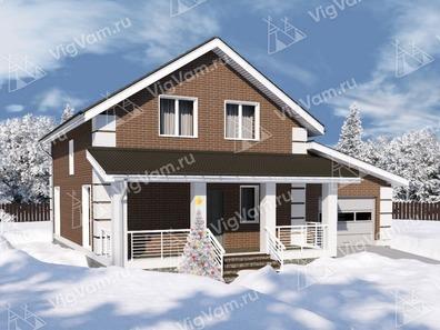 Зимние каркасные дома под ключ