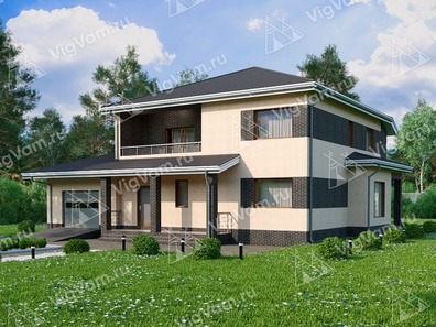 Большие каркасные дома